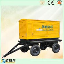 Generador Diesel Silencioso Portátil con Insonorización y Remolque