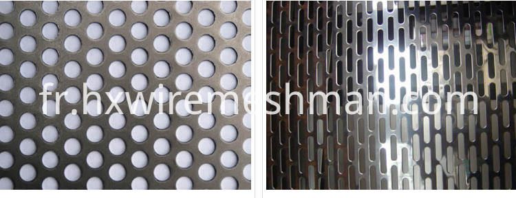 architecture perforated mesh