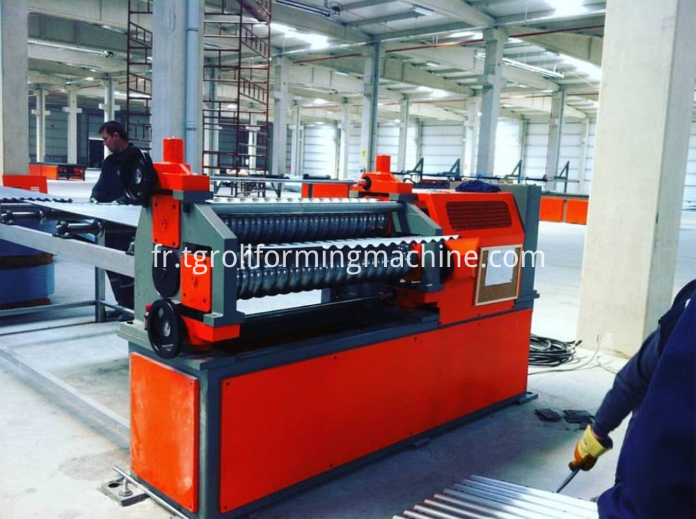 Spiral Grain Steel Silo Making Machine