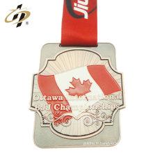 Médaille de souvenir en bronze brésilien pour le jiu-jitsu brésilien