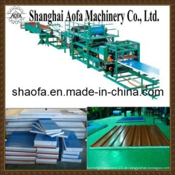 Mineralwolle Sandwich Panel Produktionslinie (AF-R760)
