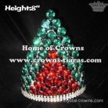8in Red Green Diamond Lighting Up Crowns