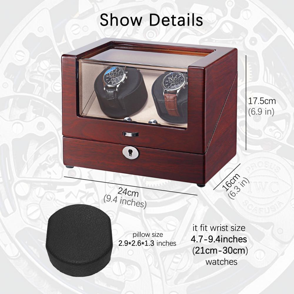 Ww 8097 Wooden Watches Display Watch Winder