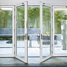 Porte extérieure à battants en aluminium