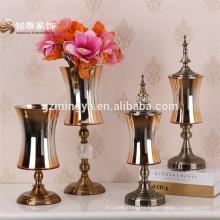2016 Hot sale Home decoration Glass Flower Vase For Home Table Decoration