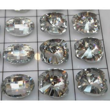 Nouveaux boutons du gros cristal mignon mode de conception en gros