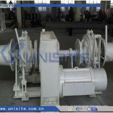 Molinete combinado eléctrico marino eléctrico del ancla de la nave (USC-11-012)