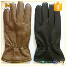 Acceptez les gants personnalisés en cuir de deerskin d'hiver en Chine