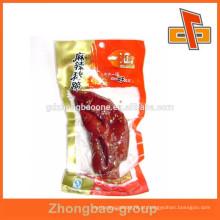 Sacos de vácuo de plástico imprimíveis para conservação de alimentos frescor