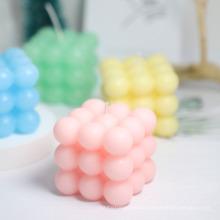 Creative Geometric Candle Home Decoration Gift Aromatherapy Candle Rubik′s Cube Shape