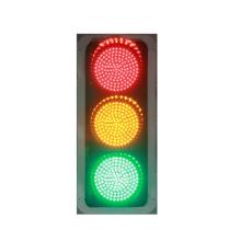 Señal de semáforo LED verde amarillo rojo para cruce de carreteras