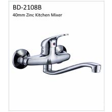 Bd2108b Faucet de cozinha de alavanca de zinco de 40mm