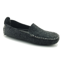 Casual moccasin whole felt shoes for men
