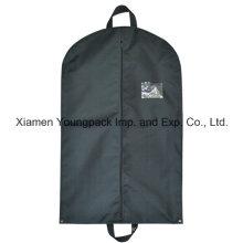 Custom Black Non Woven Polypropylene Travel Suit Cover