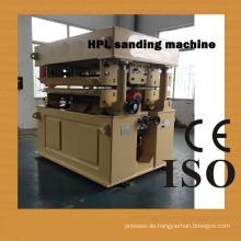 Eine Kopfschleifmaschine für HPL