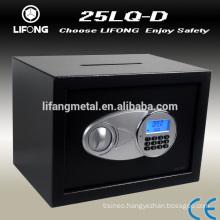 Cash burglarproof drop slot digital safe box