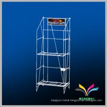 Custom design wire display metal magazine stand