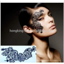 Hot selling temporary face tattoo, temporary tattoo for Halloween