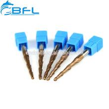 BFL R0.1 Kegel-Schaftfräser 3.175 Schaftdurchmesser-Fräser für Wachsschnitzen