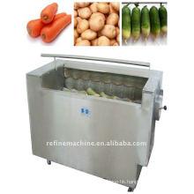 Rhizome vegetable washing machine/vegetable peeling machine