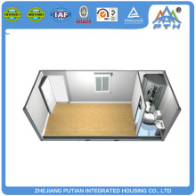 Mini well furnished prefabricated house with shower bathroom