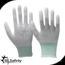 13 перчаток из углеродного волокна с PU с покрытием PU