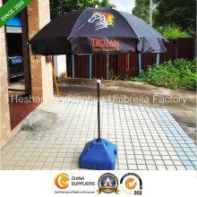 36 pouces noir revêtement extérieur parasol publicitaire (BU-0036B)