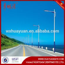 Rua LED de aço Q345 Preço da lâmpada do poste de aço galvanizado a quente fabricante 6m, 7m, 8m, 9m, 10m, 11m, 12m, 13m de altura