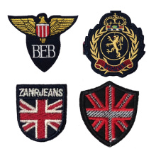 Wholesale custom made military uniform embroidery 3d patches with best price