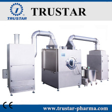 Tablet film coating machine with CE