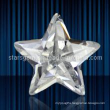 Fashion Jewelry Set Star Shape Cubic Zirconia