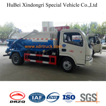 4cbm Suction Sewage Tanker Truck Dongfeng Model