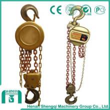 Polipasto manual de cadena a prueba de explosivos-Polipasto de bronce