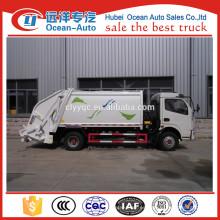 10CBM Dongfeng camión de basura usado