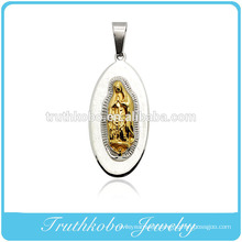 Truthkobo Casting 316l Stainless Steel High-end Mary Mother of Christ God Prayer Jewelry