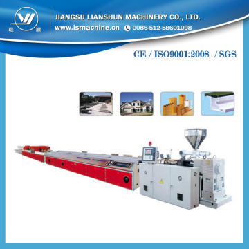 Conical Twin Screw Extruding Line for Decoration Profile/Corner Line/Panel/Trunking/Silding