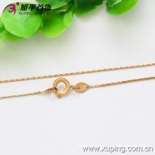 Xuping Moda Oro 18k collar de color fino (42555)