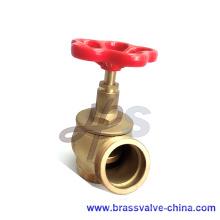 Robinet d'arrêt de bouche d'incendie en laiton ou en bronze L101