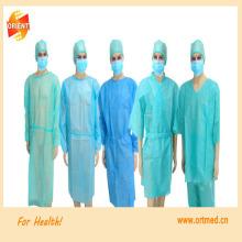 Одноразовый стерильный хирургический халат, халат