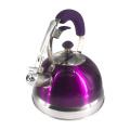 Purple S.S whistle kettle