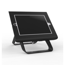 Counter top tablet stand anti-theft holder adjustable rotating tablet security stand