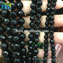 Natural Faceted Agate 4MM 6MM 8MM 10MM Gemstone Indian Stone Beads For Jewelry Making
