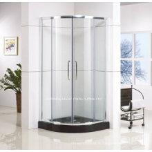 Boîtier coulissant de douche de forme de quadrant avec des conceptions de cadre (QA-R900)