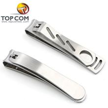 2pcs profissionais de alta qualidade em aço inoxidável cortador de unhas dom conjuntos