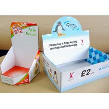 Бумажная коробка для отображения на супермаркете