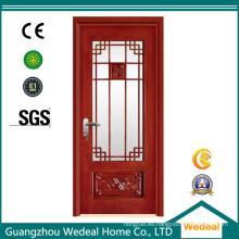 Puerta de cristal Lite de madera estilo francés para uso residencial