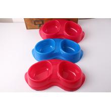 Arc Shape Double Bowl, Pet Product