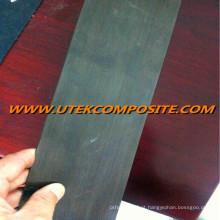 Placa Unidirectional da fibra do carbono da largura de 50mm para a construção
