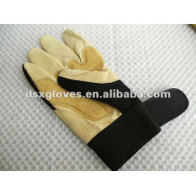 pig leather working gloves for protection