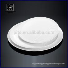 P & Tchaozhou fábrica, rodada cerâmica placa, placas de exibição com design de árvore